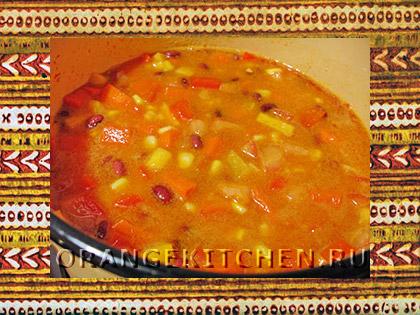 Вегетарианское блюдо чили с фасолью: Фото 6