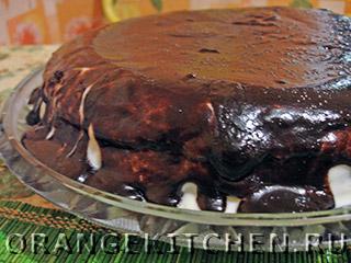 Вегетарианский шоколадный торт без яиц: Фото 11