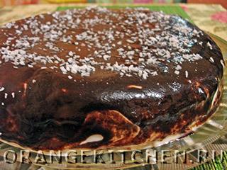 Вегетарианский шоколадный торт без яиц: Фото 12