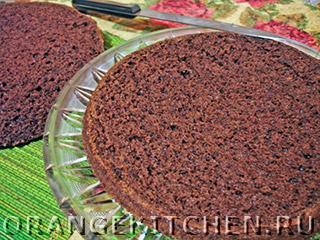 Вегетарианский шоколадный торт без яиц: Фото 6