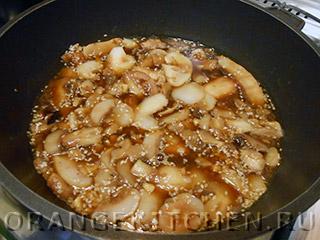 Блюдо из стручковой фасоли с грибами: Фото 3
