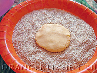 Постные блинчики из рисовой муки с кунжутом: Фото 5