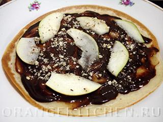 Шоколадный блинный торт: Фото 10