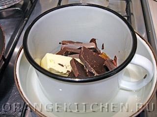 Шоколадный блинный торт: Фото 7