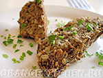 Вегетарианские блюда из круп: постная грибная запеканка
