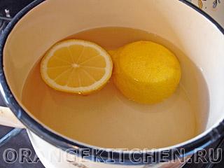Постное лимонное печенье без яиц: Фото 1