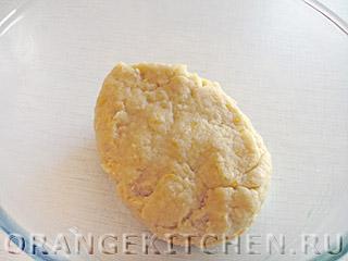 Постное лимонное печенье без яиц: Фото 4