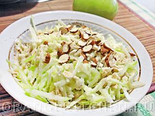 Вегетарианские рецепты с фото: салат красоты из овсяных хлопьев