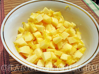 Картофель с кабачками и маслинами: Фото 1