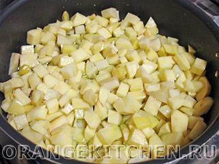 Картофель с кабачками и маслинами: Фото 2