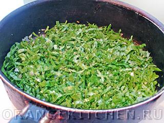 Вегетарианские макароны со шпинатом: Фото 3