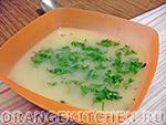 Вегетарианский рецепт постного супа-пюре