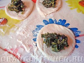 Вегетарианские вареники с зеленью: Фото 5