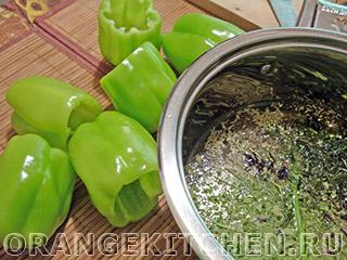 Вегетарианские фаршированные перцы: Фото 6