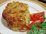 Вегетарианские овощные блюда: овощная запеканка с капустой