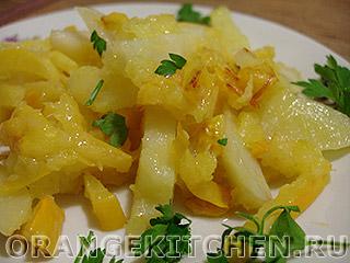 Картошка жареная с морковью: Фото 7