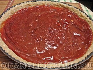 Вегетарианский пирог с яблочным повидлом: Фото 5