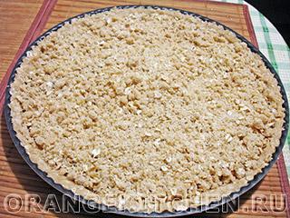 Вегетарианский пирог с яблочным повидлом: Фото 6