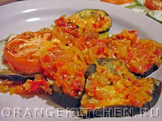 Вегетарианский рецепт рататуя с соусом