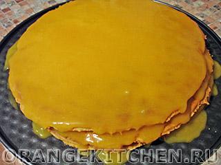 Постный торт с кремом: Фото 10
