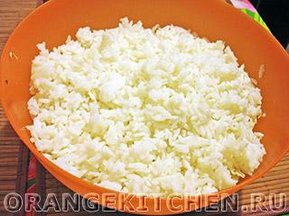 Вегетарианский рисовый салат с кукурузой: Фото 2