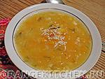 Вегетарианский рецепт постного горохового супа