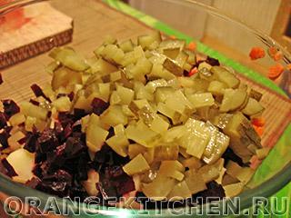 Винегрет с фасолью: Фото 5