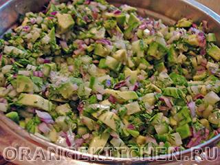 Постный картофельный салат с авокадо: Фото 4