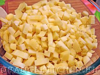 Постный картофельный салат с авокадо: Фото 5