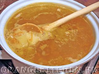 Быстрый вегетарианский суп с морской капустой: Фото 4
