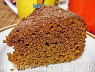Вегетарианские рецепты с фото: финиковый кекс без яиц