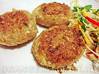 Вегетарианские рецепты с фото: кукурузные котлеты