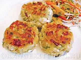 Вегетарианские рецепты с фото: картофельные котлеты