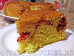 Вегетарианская выпечка без яиц: клубничный кекс
