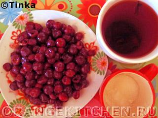 Легкий вишневый десерт: Фото 1