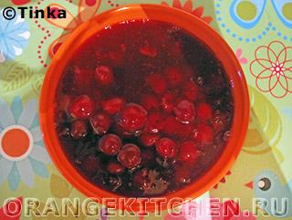 Легкий вишневый десерт: Фото 3