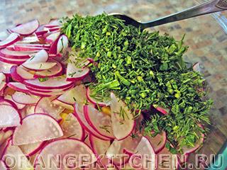 Вегетарианский салат из чечевицы: Фото 6
