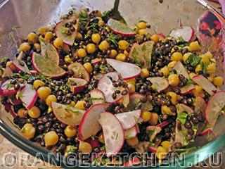 Вегетарианский салат из чечевицы: Фото 8