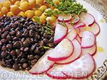 Как приготовить салат из чечевицы с редисом
