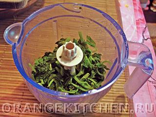 Вегетарианский зеленый соус с крапивой: Фото 2
