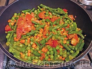 Паэлья овощная с грибами: Фото 3