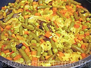 Паэлья овощная с грибами: Фото 6