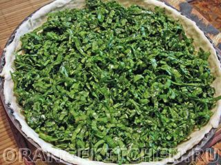 Вегетарианский пирог со щавелем: Фото 7