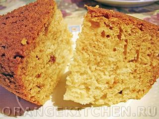 Вегетарианские рецепты с фото: индийский бисквит без яиц
