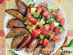 Вегетарианский рецепт картофеля по деревенски