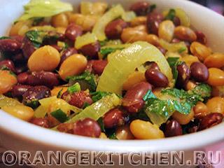 Вегетарианские рецепты с фото: пряная тушеная фасоль