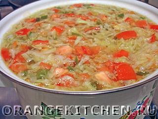 Овощной суп с рисом: Фото 5
