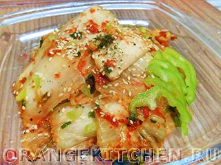 Вегетарианские рецепты с фото: неострое кимчи