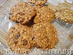 Вегетарианский рецепт овсяного печенья без масла