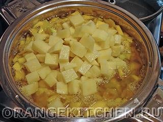 Постный тыквенный суп-пюре: Фото 5